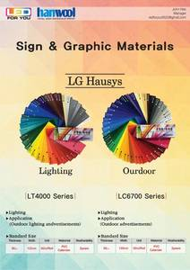 Wholesale film light: LG Hausys Sign Marking Film for LIGHTING