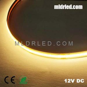 Wholesale led residential light: Indoor COB LED Strip Light Warm White