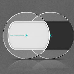 Wholesale wireless mobile phone charger: High Quality Acrylic Qi Wireless Charger for Mobile Phone Wireless Charger