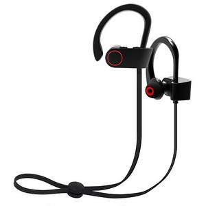 Wholesale sports: OEM Latest Wireless Bluetooth Earphones for Sports Handsfree Super Soft Earhook Headphones