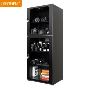 Wholesale electronic lock: 388L Electronic Dehumidifier Dry Box Digital Display Dry Cabinet for Camera Code Lock