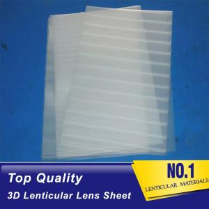 Wholesale card sheet material: PET PP 3D Lenticular Lens Sheets