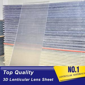 Wholesale lenticular panel: 40 Lpi 3D Lenticular Sheets Lenses 3D Plastic Lenticular Panel