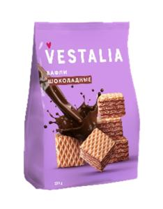 Wholesale soy lecithin powder: VESTALIA Chocolate Waffles