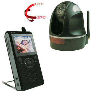 Wholesale Baby Monitors: Wireless Digital Pan and Tilt Home Surveillance System