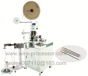 Wholesale single twisting machine: BW-1.0+N Full Automatic Single End Wire Twisting and Terminal Crimping Machine
