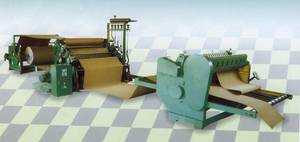 Wholesale Paperboard: Single Faced Corrugated Paperboard Line
