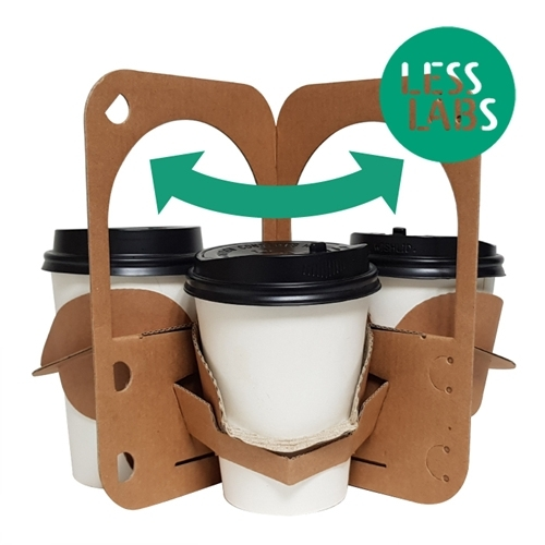 CUP CARRIER, LESS CARRIER (For Both 2 and 3 Cups)