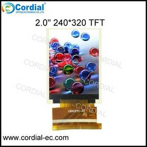 Wholesale lcd: 2.0 Inch 240x320 TFT LCD MODULE CT020BHJ18