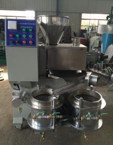 Wholesale oil press machine: CE Automatic Cold Coconut Oil Press Machine/Oil Expeller