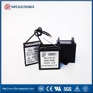 Wholesale domestic sewing machine: CBB61 Ceiling Fan Capacitor