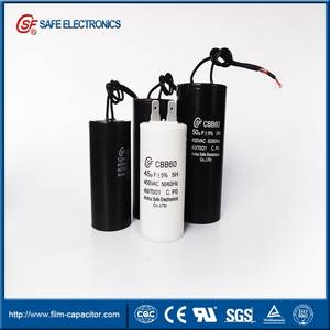 Wholesale non electric washing machine: AC Motor CBB60 Capacitor of Water Pump