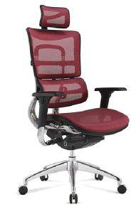 Wholesale mesh chair: Latest Style Manager Used Ergonomic Mesh Swivel Chair with Headrest