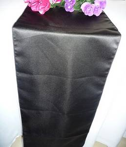 Wholesale Table Runners: Wedding Table Runner and Banquet Lamour Satin Table Runners