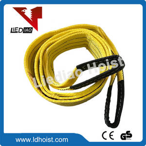 Wholesale polyester: Colour Flat Eye Double Ply Polyester Webbing Sling Webbing Sling