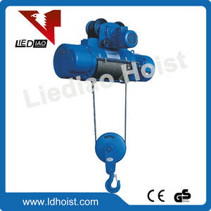 Wholesale lifting hoist: Wire Rope Electric Hoist Material Lifting Equipment