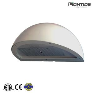 Wholesale commercial lights: Lightide Quatersphere IP65 & Commercial  LED Wall Pack Lights 40-120 Watts White, 100-277vac