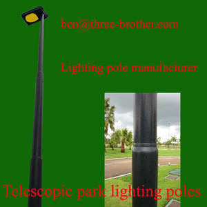Wholesale delivery time: Short Delivery Lead Time Swaged Lighting Poles