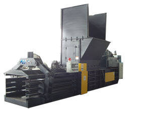 Wholesale scrap tire recycling machine: Full Automatic Compress Baler Machine
