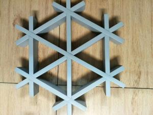 Wholesale aluminum alloy ceiling grid: Snow Shaped Aluminum Luster Ceiling Grid Factory Price High Quality