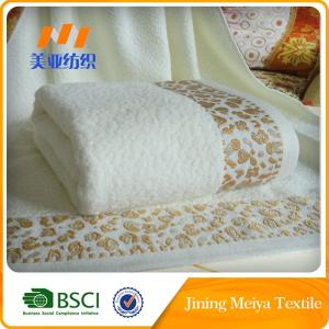 Wholesale standard football: 100% Cotton Jaquard Hand Towel