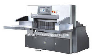 Wholesale cushion containers: High-Speed Hydraulic Pragrammed Paper Cutting Machine