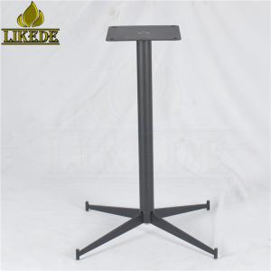 Wholesale bar table chairs: Elegant Low Price Metal Powder Coating Grey Iron Table Base Leg for Dining/Bar/Patio/Coffee Table
