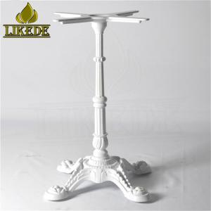 Wholesale cast iron table: Low Price Table Use Metal Powder Coating White Western Classical Style Cast Iron Table Base Leg