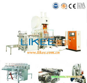 Wholesale power stacker: Used Aluminum Foil Container  Machine LK-T63
