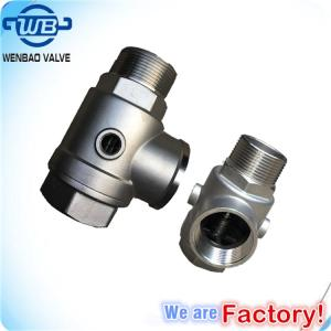 Wholesale stainless steel valve: Stainless Steel 5-Way Check Valve
