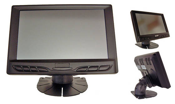 Sell 7 inch lcd touchscreen monitor with VGA input 629GL