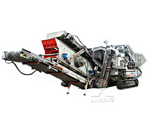 Wholesale gold recovery equipment: Mobile Crushing Station for Efficient Use of Construction Waste