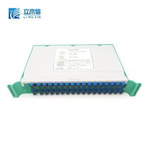 Wholesale splitter optic: LIMUXIN Optical Communication 2x32 PLC Splitter Tray Module