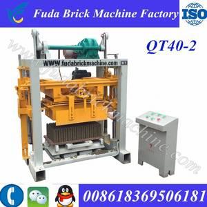 Wholesale simultaneous translating system: QT40-2 Manual Block Machine