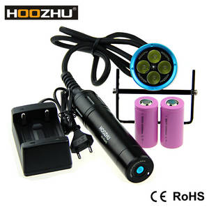Wholesale Other LED Lighting: Hoozhu HU33 Canister Diving Light MAX 4000lm