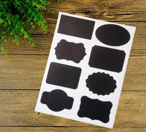 Wholesale furniture: Chalk Board Craft Stickers for Kitchen Furniture Jar Labels