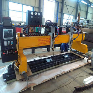 Wholesale cnc cutting machine: Gantry Type CNC Plasma Cutting Machine
