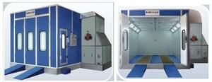 Wholesale automotive paint spray booth: Car Paint Spray Booth (BC-718, Fuel Oil Type)