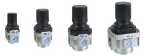 Wholesale bracket: Air Pressure Regulator 3/8 Air Treatment Unit with Square Gauge and Mounting Bracket