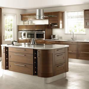 Wholesale grain packaging: Wooden Grain Assemble Package Kitchen Design Modern Style Comfort Kitchen