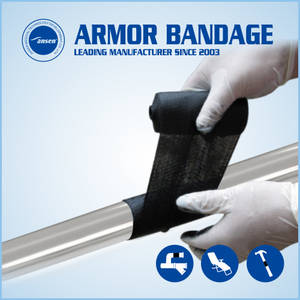 Wholesale industrial pipeline repair bandage: Fix Breakage Leaky in 30 Minutes Resist 50 Bar Pipe Repair Bandage