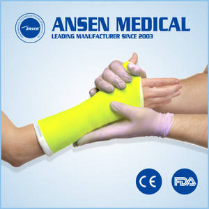 Wholesale casting molded polyurethane products: Light Weight Medical Casting Tape
