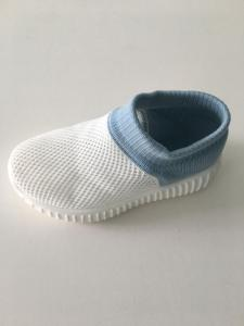 Wholesale knitting fabric: Kids Flying Knit Fabric Sock Shoe Rubber Shoes Casual Toddler Shoe