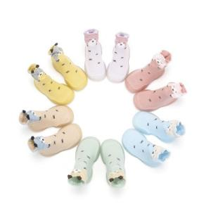 Wholesale children socks: Animal Style  Soft Rubber Sock Anti-slip  Shoe Children Kids Sock Shoe