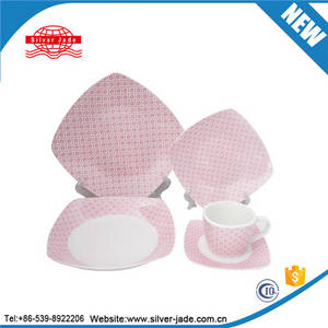 Wholesale tableware: Home and Garden Hotel Ceramic Tableware and Dinnerware Plates Set