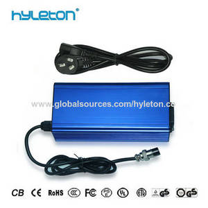 Wholesale scooter batteries: 48V Electric Bike Lithium Ion Battery Charger 54.6V Li-ion Scooter Charger 13S Lithium Polymer