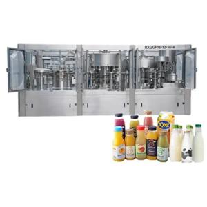 Wholesale drinking bottle: Automatic Tea Energy Drink Bottling Machine