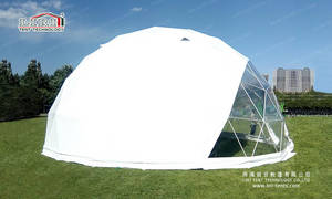 Wholesale outdoor tents for events: Geodesic Dome Canoy Tent for Outdoor Event