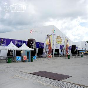 Wholesale curtain tracks: Liri Tent Manufacturer New Design 50x100m Event Tent with Lining and Curtain