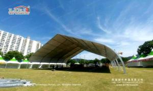 Wholesale exhibition tent: Tempering Glass Sidewall Aluminum 40mX50m Arcum Tent Hall Marquee Tent Exhibition Tent